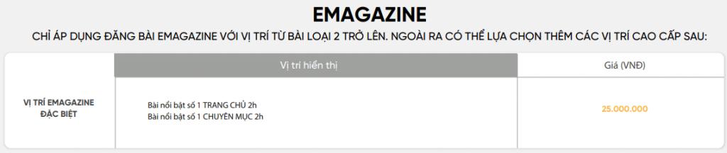 Báo giá book bài PR trên báo điện tử Genk mới nhất